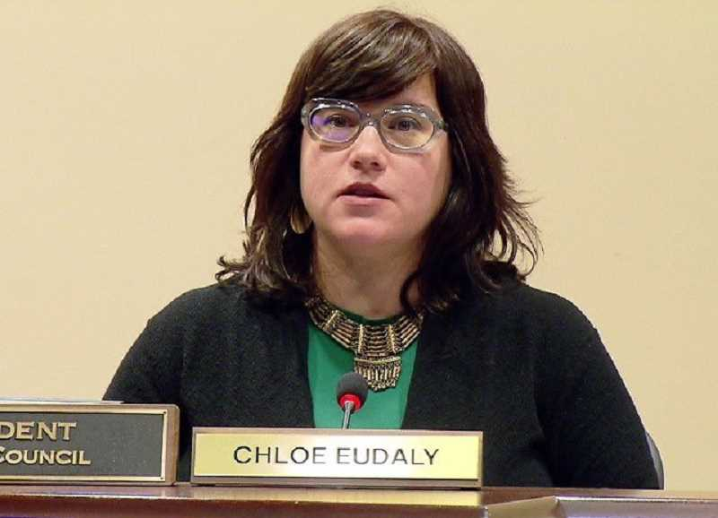 PMG FILE PHOTO - Portland City Commissioner Chloe Eudaly, pictured here in a file photo, led the charge to withhold funding to Southwest Neighborhoods Inc., pending a city review of the organization's finances.