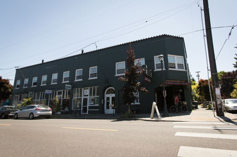 PMG FILE PHOTO - A historic building in the Alberta Arts District in Northeast Portland.