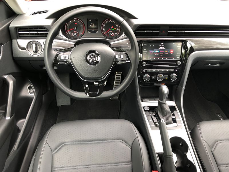PMG PHOTO: JEFF ZURSCHMEIDE - The interior design is basic, no-nonsense and functional, and can be loaded with luxury and advanced technologies in the higher trim levels without breaking the bank.