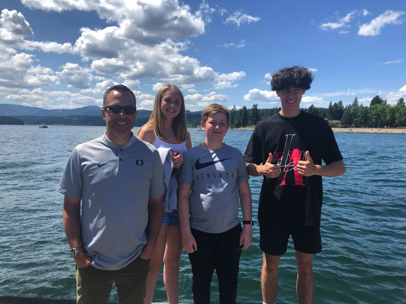 COURTESY PHOTO: APRIL FREDRICKSON - The Lake Oswego community was rocked after Sean, Sofie, Quinn and Hayden died in a plane collision over the Fourth of July weekend.