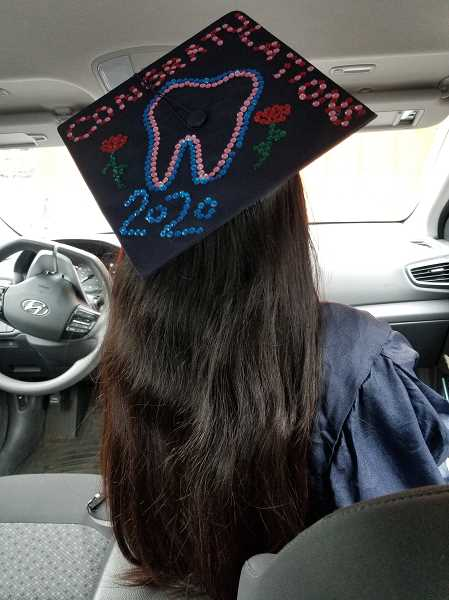 COURTESY PHOTO - Rosidee Wicke, a Happy Valley resident, celebrates becoming a graduate of Clackamas Community College.