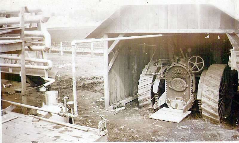 COURTESY PHOTO - The tractor that powered the first still at Seely Family Farm.