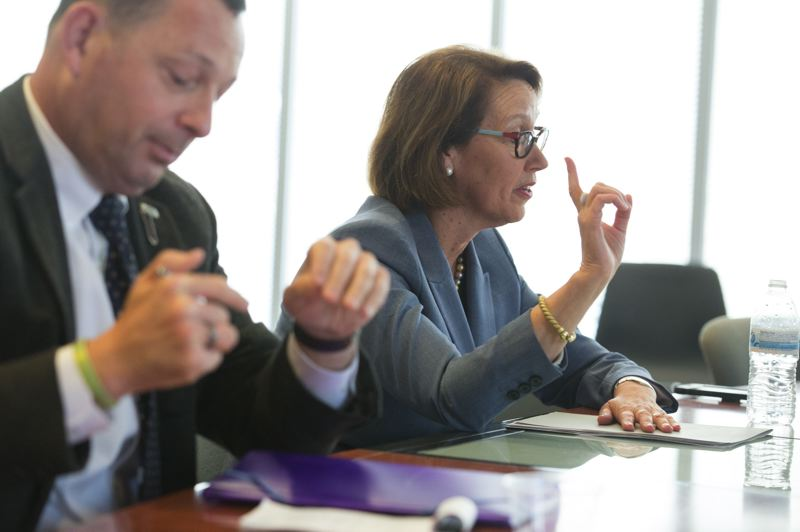 PMG FILE PHOTO - Oregon Attorney General Ellen Rosenblum said the state joined a lawsuit to stop the administration from kicking thousands of foreign students out of the country.