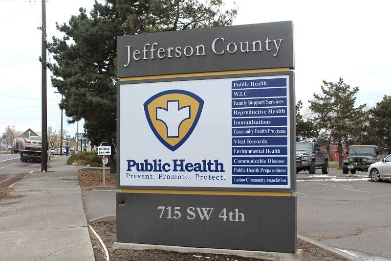 HOLLY M. GILL/MADRAS PIONEER - Jefferson County Public Health Department's weekly update