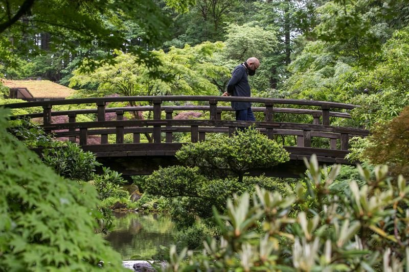 FILE  - Portland's Japanese Garden is shown here.