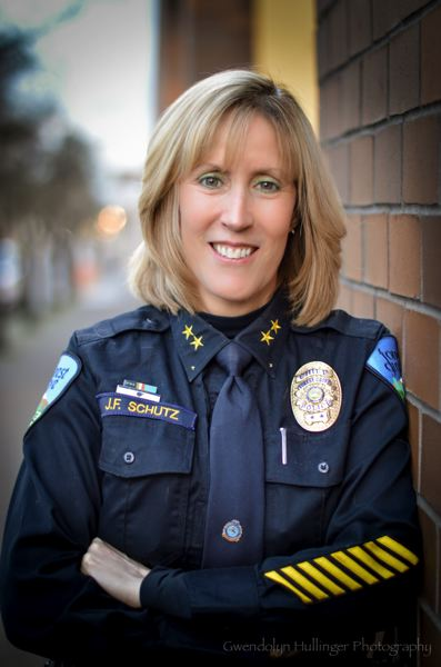 PMG FILE PHOTO: - Former Forest Grove Police Chief Janie Schutz