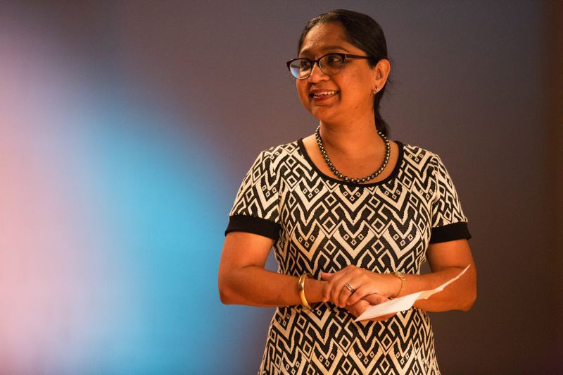 COURTESY PHOTO: INTISAR ABIOTO - Presiding as the Creative Laureate of Portland during a social justice period, Subashini Ganesan said 'this is a real moment where artists are culturally diverse, gender diverse, and they're getting the light shined on the diversity and richness.'