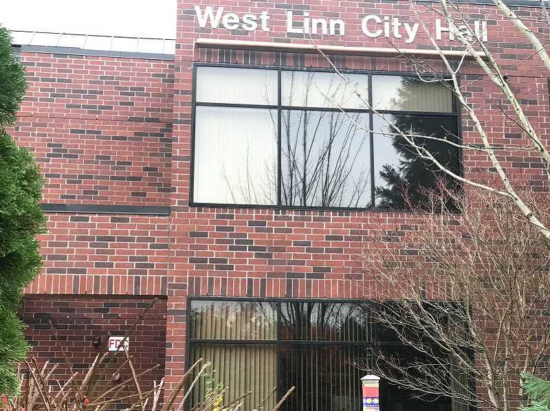 PMG FILE PHOTO - The West Linn City Council has narrowed its search for the next city manager.