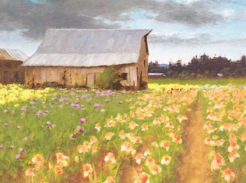 COURTESY PHOTO - A tribute to renowned Oregon painter Michael Gibbons is on display at the Chehalem Cultural Center.