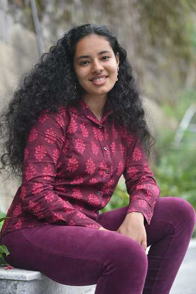 COURTESY PHOTO: NAYANTARA ARORA - Nayantara Arora received the National Security Language Initiative for Youth Virtual Intensive scholarship to study Arabic for five weeks during the summer of 2020.