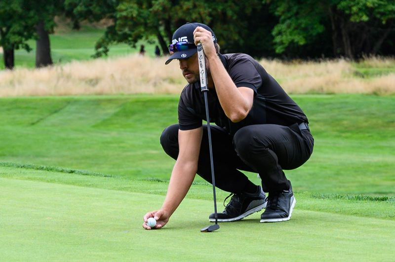 PMG FILE PHOTO - Scott Harrington secured his PGA Tour card with a strong finish at the 2019 WinCo Foods Portland Open.
