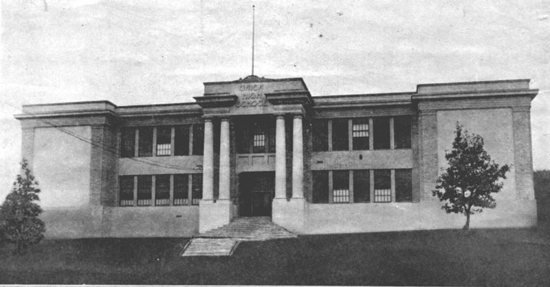 PHOTO COURTESY OLD OREGON PHOTOS - West Linn High School was called Union High School when it was first opened in 1920.