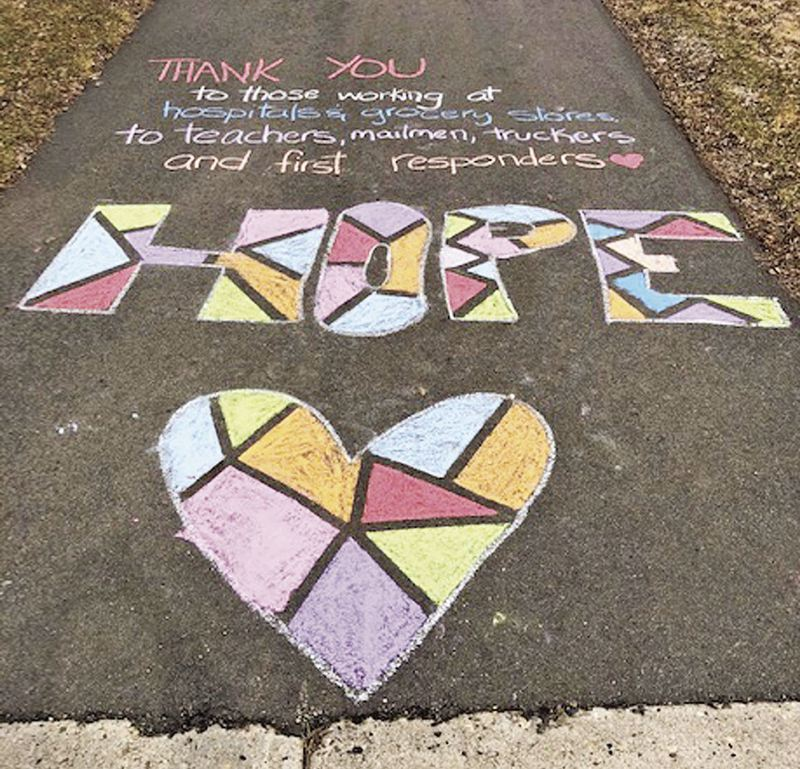 COURTESY PHOTO - Without a 2020 festival, the La Strada dei Pastelli Chalk Art Festival documented work of some artists to share with fans.