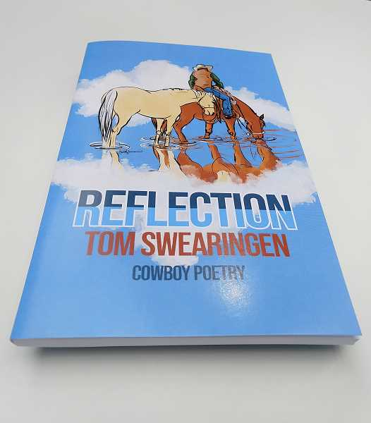 COURTESY PHOTO - Tom Swearingens first book, Reflection,  is 106-page paperback collection of 46 poems with 32 illustrations by Salem artist Elizabeth Zimmerman.