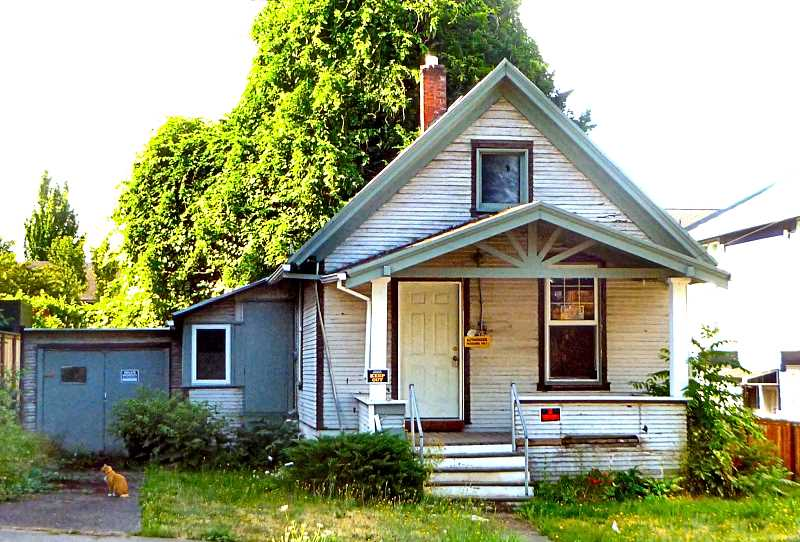 EILEEN G. FITZSIMONS - As an example - what historic information on this randomly chosen, obviously older, tiny and ordinary house might be found through online detective work?