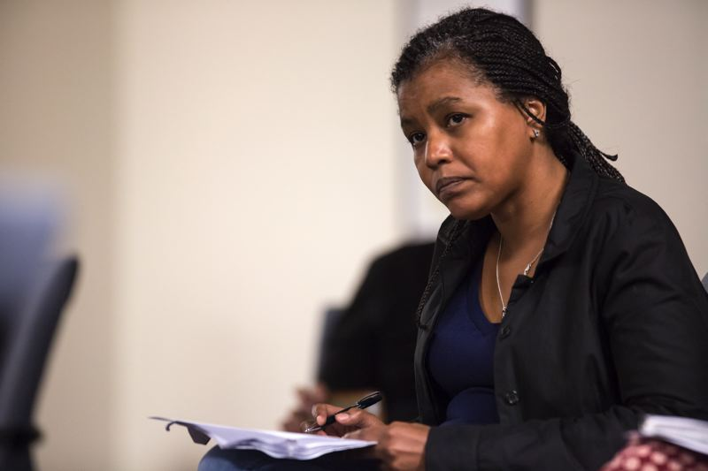 PMG FILE PHOTO - Teressa Raiford is a veteran of Portland-area protests