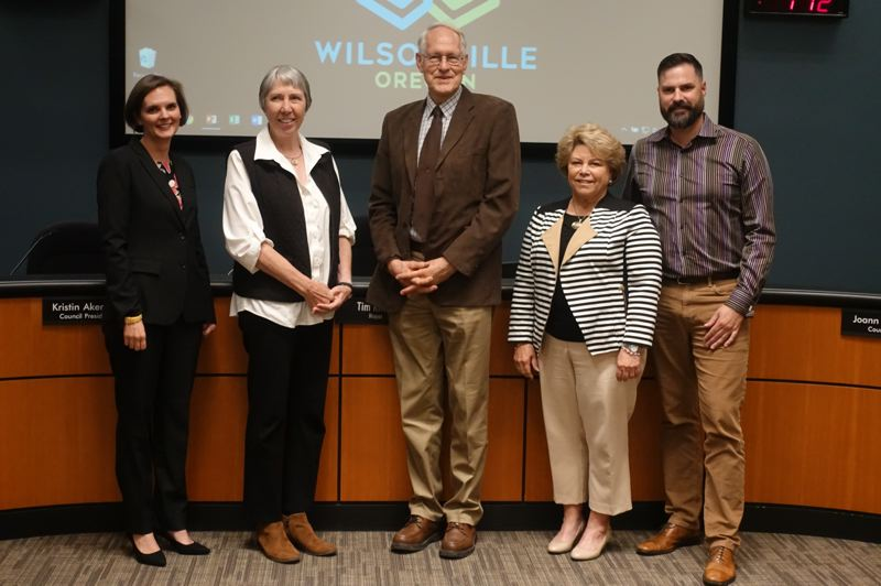 COURTESY PHOTO: CITY OF WILSONVILLE - The Wilsonville City Council establishes legislative priorities with League of Oregon Cities during a meeting Monday, July 20.