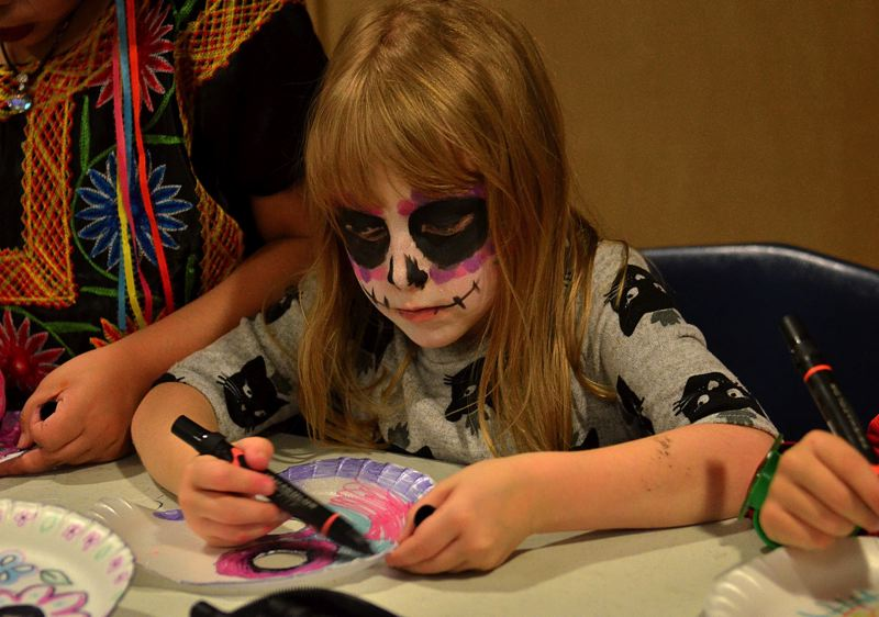 PMG FILE PHOTO - The Dia de Los Muertos celebration is one event at Wilsonville High School that embraces diversity.