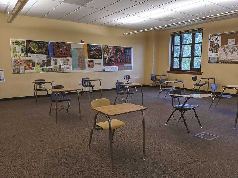 COURTESY PHOTO - The Lake Oswego School District will use disinfecting machines to clean classrooms between uses.