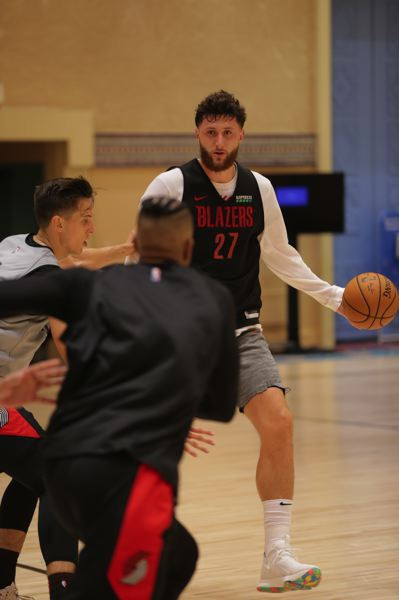 COURTESY PHOTO: PORTLAND TRAIL BLAZERS - The Trail Blazers will be a more well-rounded team now with Jusuf Nurkic back in the lineup.