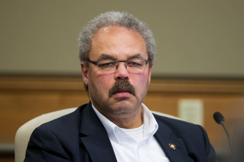 PMG FILE PHOTO - State Sen. Lew Frederick, a Portland Democrat, sits on the legislative interim committee on policing and use of force.