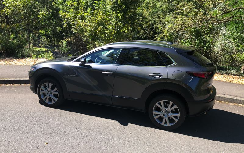 PMG PHOTO: JEFF ZURSCHMEIDE - The 2020 CX-30 is Mazda's latest expression of a concept called 'Jinba Ittai,' which translates as 'Horse and rider are one.'