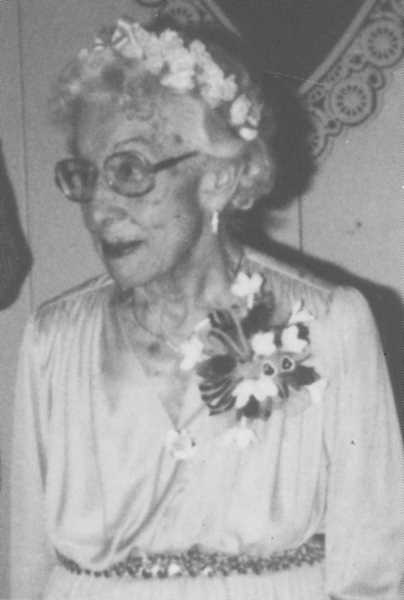 PHOTO COURTESY OF BOWMAN MUSEUM - Emily Bernard was honored as Crook County Pioneer Queen in 1983.