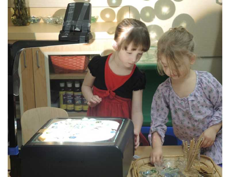 COURTESY PHOTO - Students at the Gladstone Teaching Preschool take an explorative approach to learning.