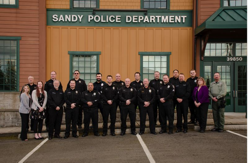 COURTESY PHOTO: SANDY POLICE DEPARTMENT - Sandy Police Officer Michael Boyes has been sworn at Sandy for nearly five months now.