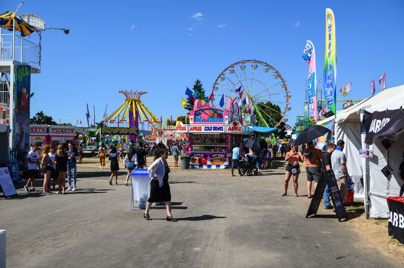 PMG FILE PHOTO: - The Washington County Fair in 2019 at Westside Commons, formerly called the Washington County Fair Complex.