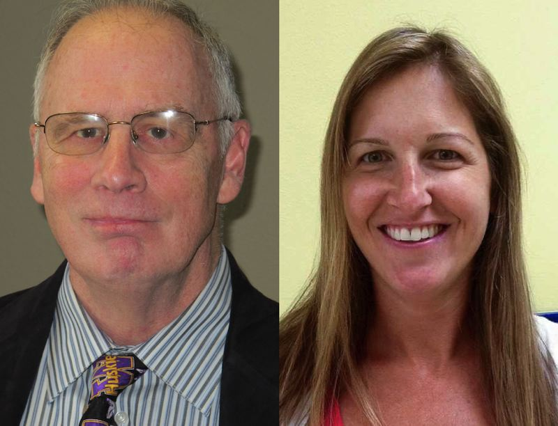 PMG FILE PHOTOS - Left to right, Pete Truax and Malynda Wenzl.