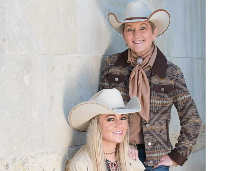 COURTESY PHOTO - Olivia and Joni Harms will sing at Shaniko Days this weekend.