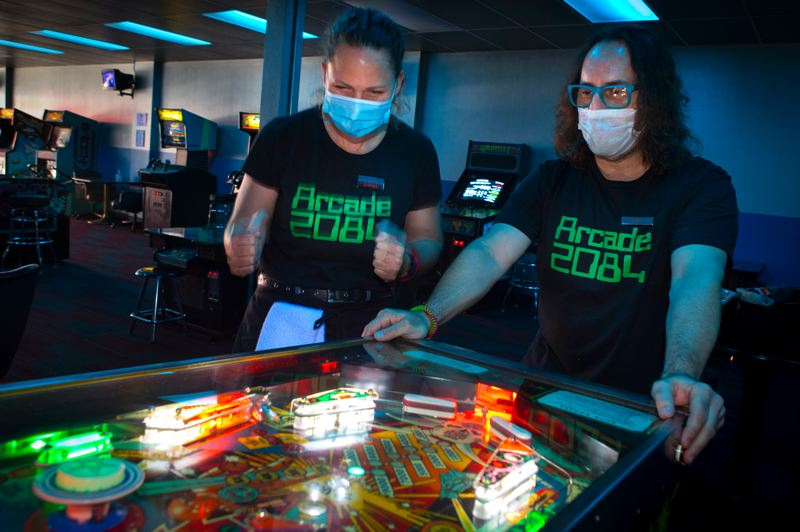 1980s-themed Hillsboro arcade opens amid pandemic