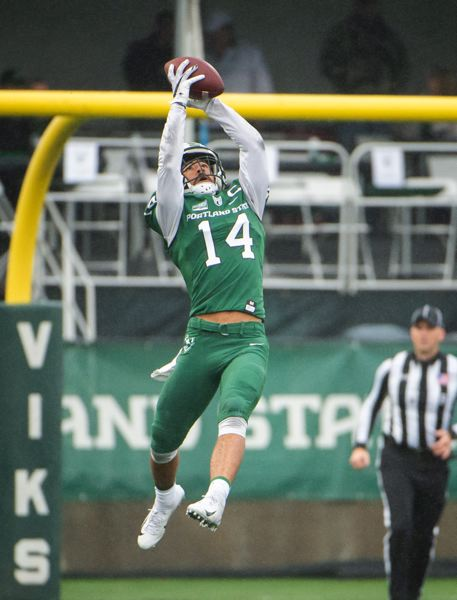 COURTESY PHOTO: PSU ATHLETICS/TROY WAYRYNEN - Anthony Adams made five interceptions last season for Portland State.