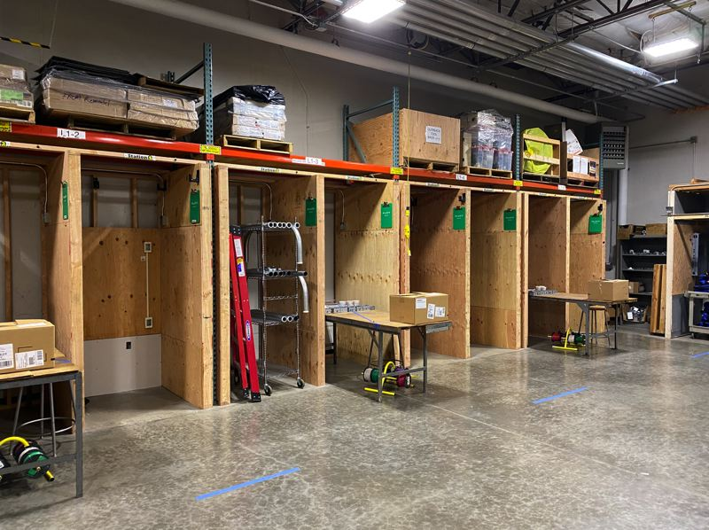 COURTEY: IBEW  - Social distancing is the new norm at the NECA-IBEW Electrical Training Center (NIETC), the newly reopened electrician school near the Portland airport.