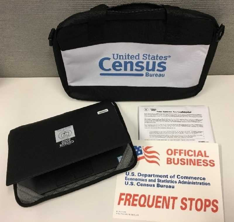 COURTESY PHOTO: U.S. CENSUS BUREAU - Census-takers will have offical badges and other marked paraphernalia.