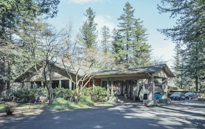 PMG FILE PHOTO - Junki and Linda Yoshida originally donated their landmark Troutdale home to Randall Children's Hospital, but in recent events the hospital gifted the property to Mt. Hood Community College.