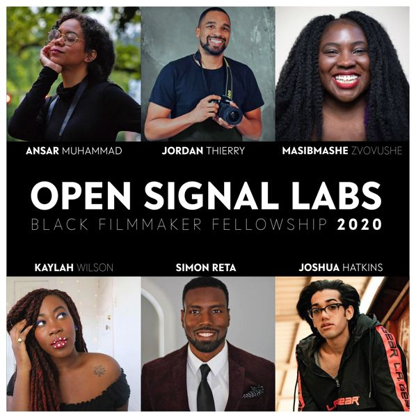 COURTESY PHOTO: OPEN SIGNAL - Open Signal has a lineup of Black filmmakers working on projects.