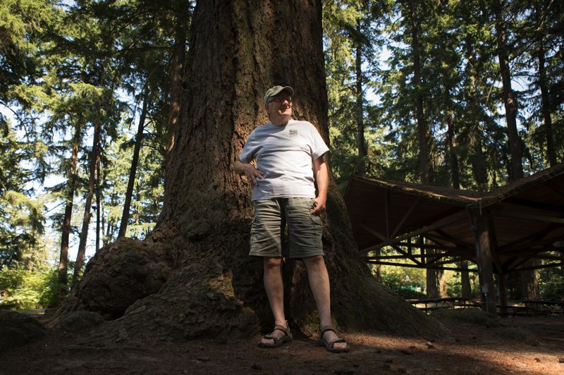 PMG PHOTO: JAIME VALDEZ - Dave Hillman has long been a steward of Mt. Tabor Park, but he's stepping back from his responsibilities to allow new people to become involved.