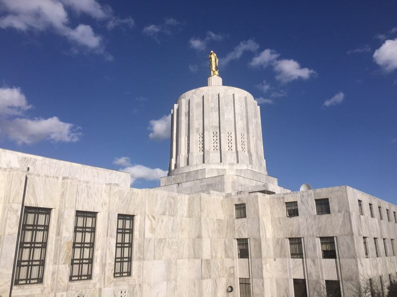 PMG FILE PHOTO - The Oregon State Capitol in Salem.