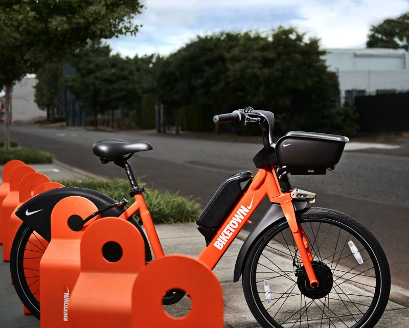 COURTESY PHOTO: BIKETOWN - With a reported top speed of 20 miles per hour while pedaling, a new fleet of 1,500 electric bikes will roll out on Portland streets in September.