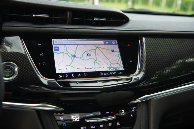 COURTESY CADILLAC - The current Cadillac user experience infortainment system with an 8-inch-diagonal color touchscreen and enhanced personalization is the best ever offered in a General Motors vehicle.