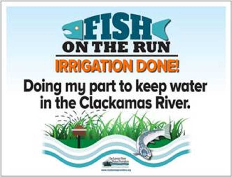 This year's campaign by the Clackamas River Water Providers.