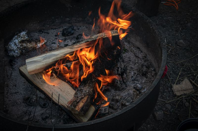 COURTESY PHOTO: JUSTIN LENIGER ON UNSPLASH - On Wednesday, Aug. 5, leaders on the Mt. Hood National Forest announced a temporary ban on campfires.