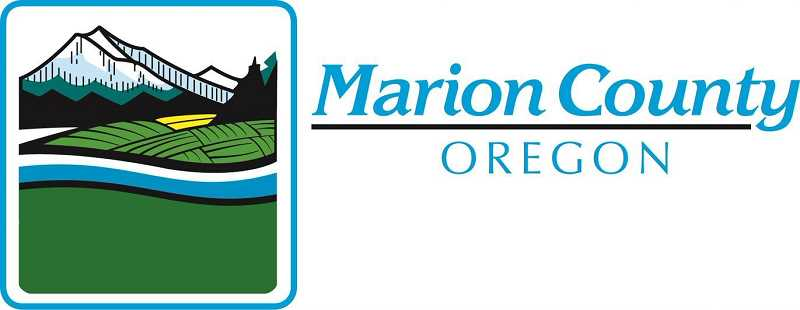 COURTESY OF MARION COUNTY - Marion County logo, Woodburn Independent - News