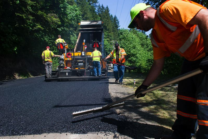 PMG FILE PHOTO - Cornelius Pass Road, portions of which are maintained by Multnomah County, is shown here in 2013.