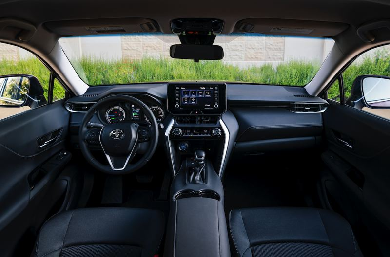 COURTESY TOYOTA - The interior of the 2021 Toyota Venza is upscale and ultra modern.