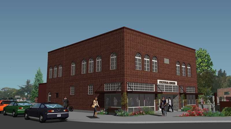 COURTESY PHOTO: WFLHAC - The West Linn City Council has worked for over two years with the Willamette Falls and Landings Heritage Area Coalition on plans to turn the old city hall building into a multicultural center.