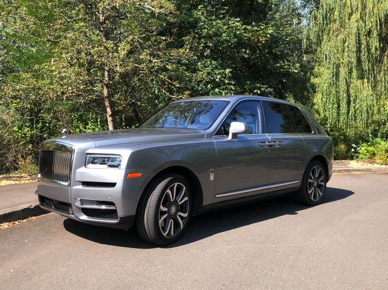 PMG PHOTO: JEFF ZURSCHMEIDE - The 2020 Rolls-Royce Cullinan features a twin-turbocharged V12, all-wheel-drive and ride height adjustable suspnsion, all standard.