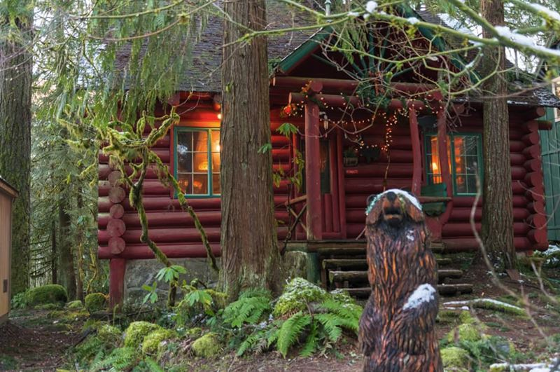 COURTESY PHOTO: BRAD AND JEWEL STOCKLI - The Stocklis have owned Laughing Bear Cabin in Rhododendron for nearly 20 years.